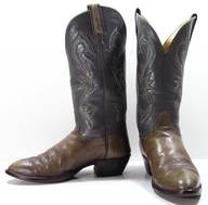 used green cowboy boots lots