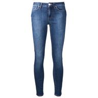 salvage used jeans dark blue