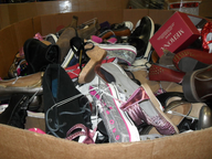 used shoes in pallets suppliers