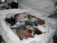 used shoes in sacks closeouts