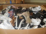 overstock used shoes pallets