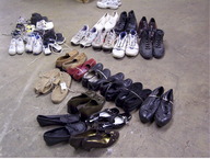 surplus used shoes