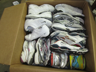 used sneakers pallets