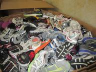 surplus used washed branded sneakers