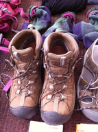 used work boots ssample lots