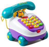 vtech toy phone shelf pulls