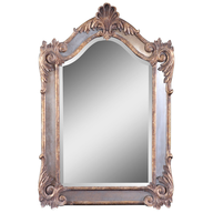 overstock wall mirror silver