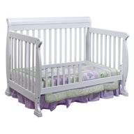 white baby crib shelf pulls
