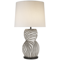bulk white black table lamp