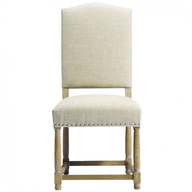 overstock white dining chair