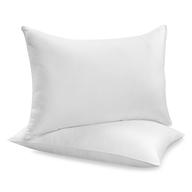 white pillows pallets