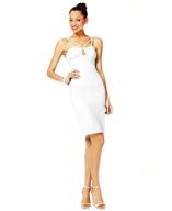 white strappy dress closeouts
