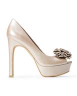 overstock womens beige heels