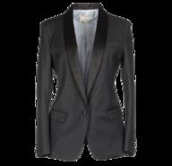 womens black blazer closeouts