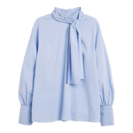 overstock womens blue blouse
