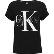womens calvin klein black t shirt shelf pulls
