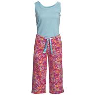salvage womens capri pajamas