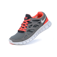 womens freeruns pink grey deals