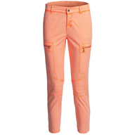 womens orange cargo pants deals