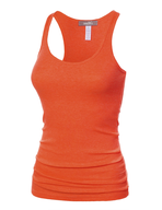 overstock womens orange tank