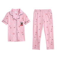 bulk womens pink pajama set