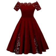 closeout womens plus size red dress