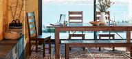 world market rustic dining room pallets