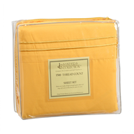 yellow bed sheets in bulk