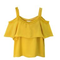 yellow blouse women closeouts