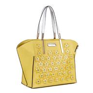 yellow nicole lee purse lots