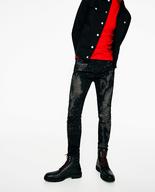 liquidation zara bleached mens jeans