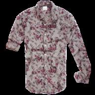 zara floral grey button shirt truckloads