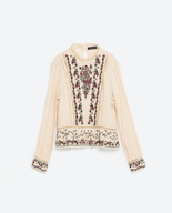 overstock zara womens blouse